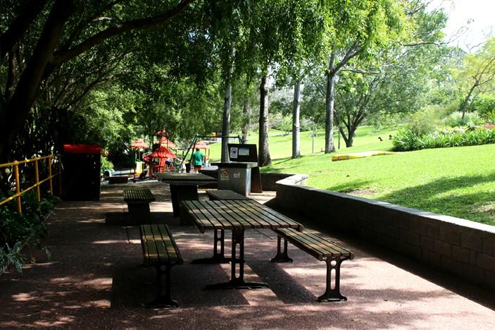 roma street parklands picnic area