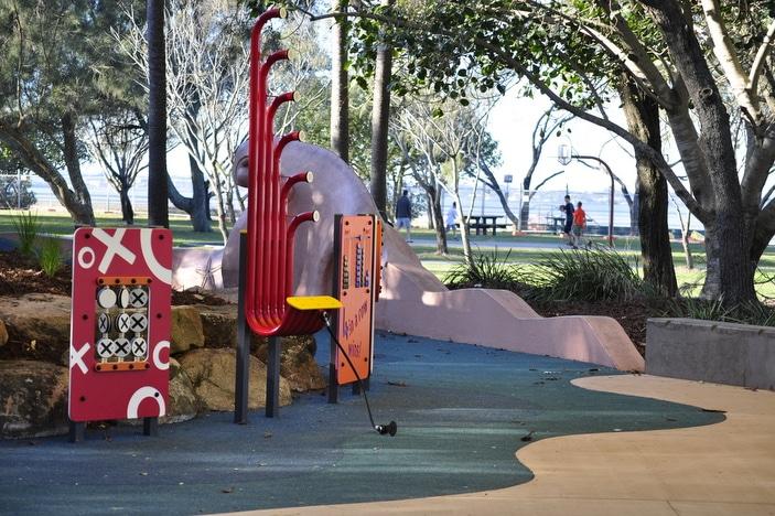 Decker Park Playground Equipment 1