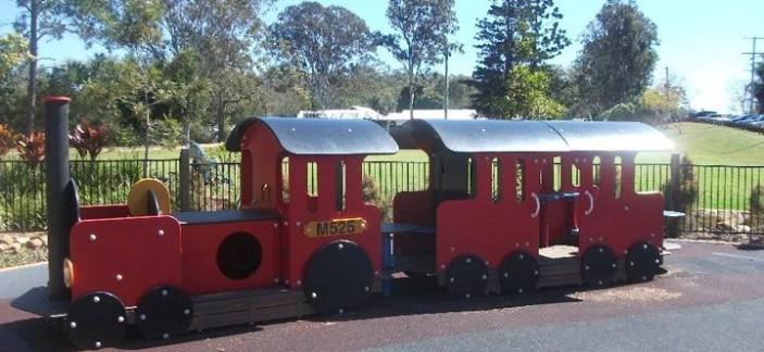 Samford Village Park Play Train