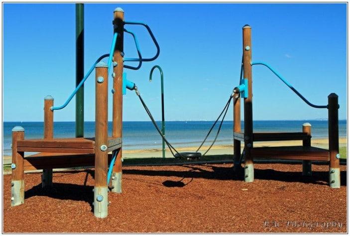 Suttons Beach Park Balancing Fun