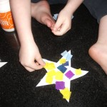 making the star