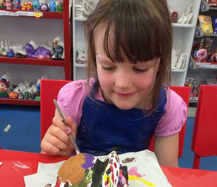 a brisbane child with plaster
