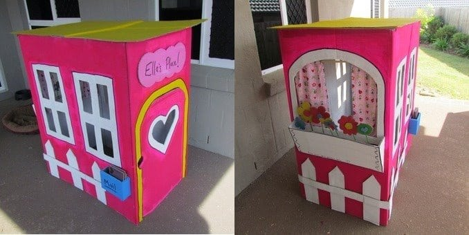 Cool things to do with cardboard boxes brisbane kids for What can i make with boxes