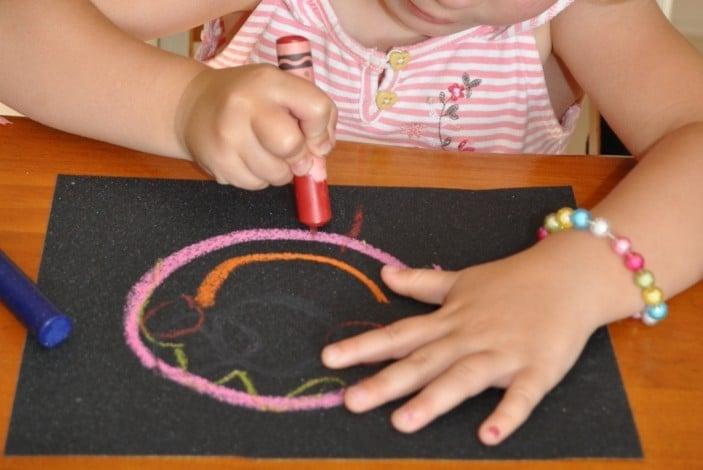 Crayon-Sandpaper-Drawing