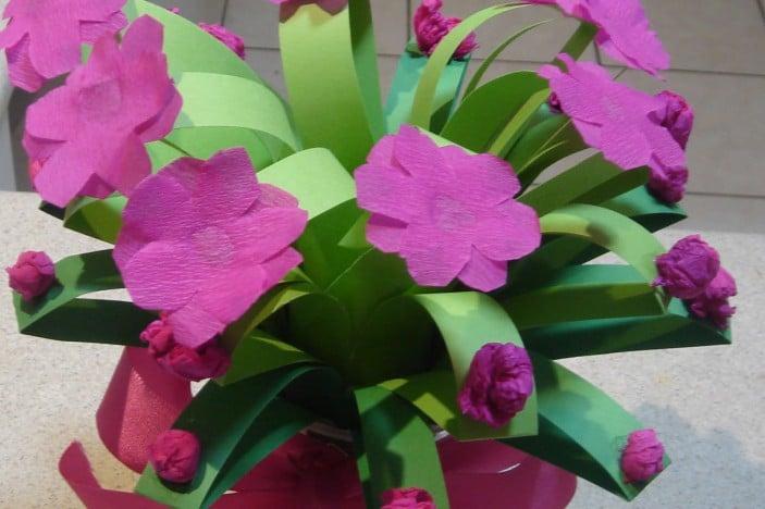 Easy Flower Bouquet Craft | Brisbane Kids