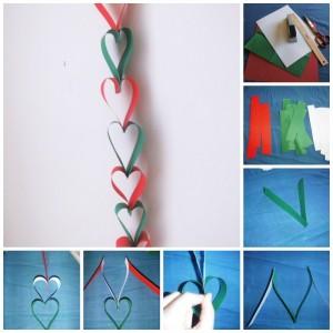 Heart Paper Chain
