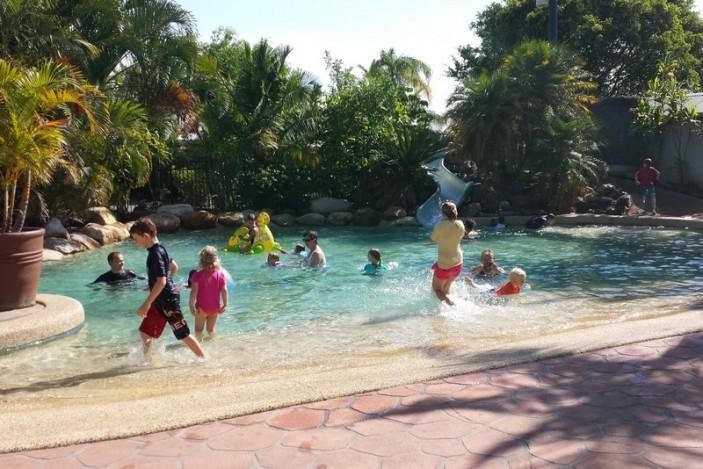 Treasure Island main pool