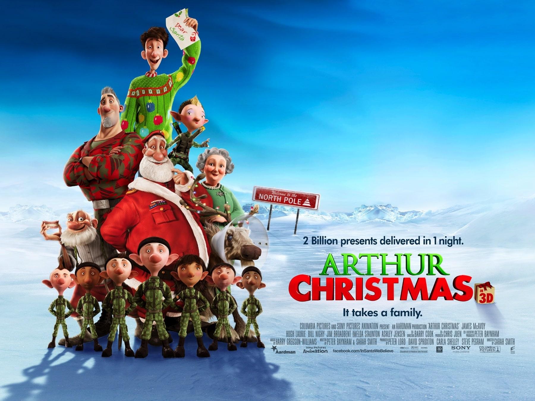 arthur christmas budget