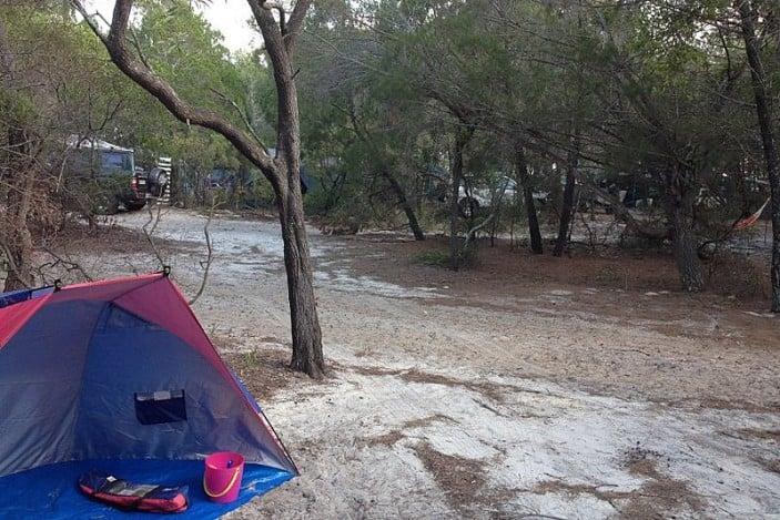 Inskip camping