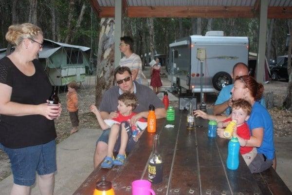 Lake Cootharaba camping