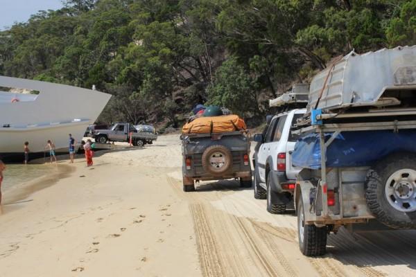 Moreton Island camping