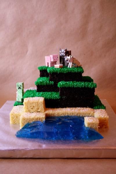Minecraft Cake 1