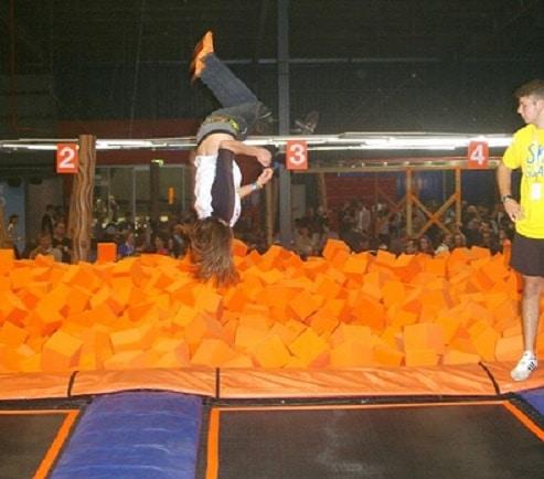 trampoline jumping brisbane