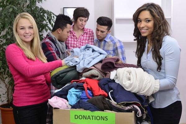 Donating in Brisbane