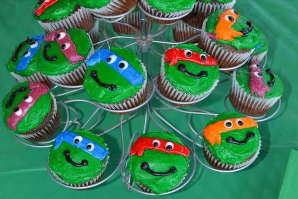 Magnificent Totally Awesome Teenage Mutant Ninja Turtles Party Ideas Funny Birthday Cards Online Elaedamsfinfo