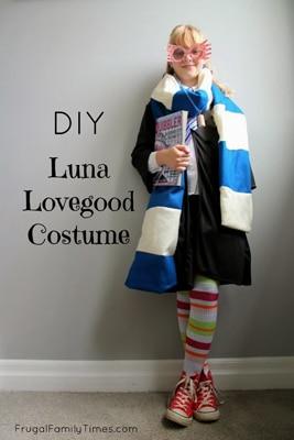 DIY Luna Lovegood Costume for Halloween