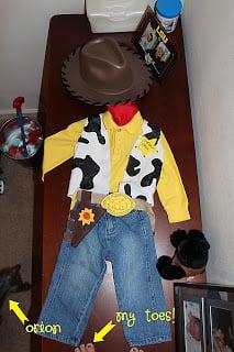 DIY Woody Cowboy Costume