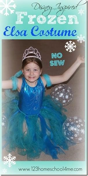 Frozen Snow Princess DIY Costume Elsa