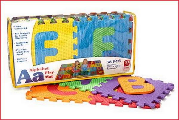 Kmart alphabet mat
