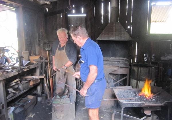 Blacksmith Samford Museum