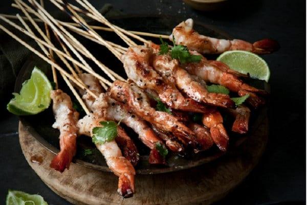 Barbecue prawn recipe