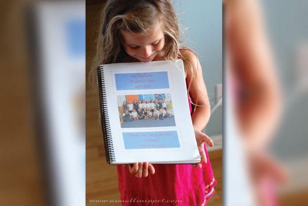 Teacher gift idea