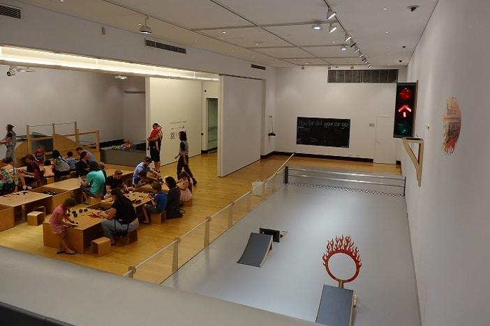 fire race track ipswich art gallery