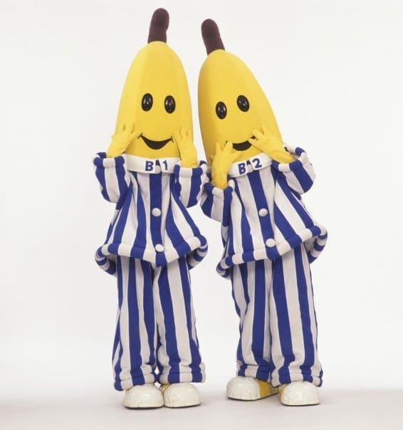 bananas in pjs