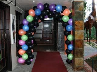 Disco Party entrance