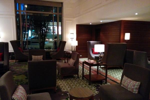 Brisbane Marriott lobby