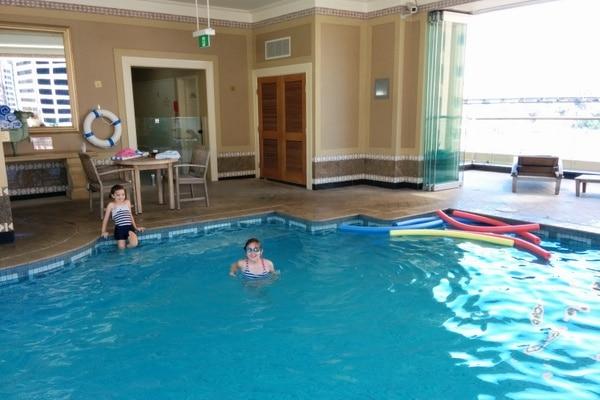Brisbane Marriott swimming pool