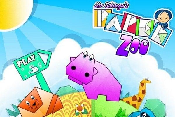 Title-screen-Mr-Shingus-Paper-Zoo