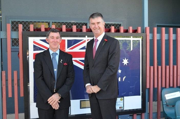 Paul Kingston with Local MP Tim Mander