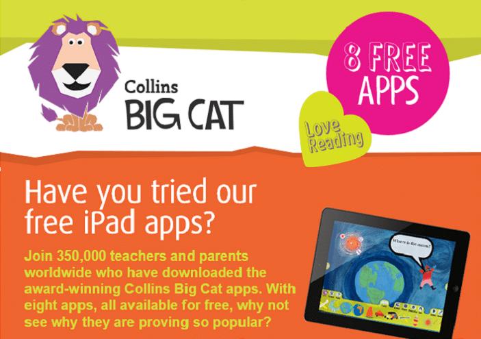 collins big cat free apps