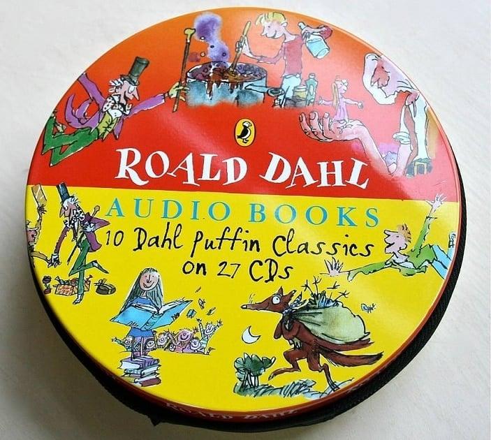roald dahl audio for kids