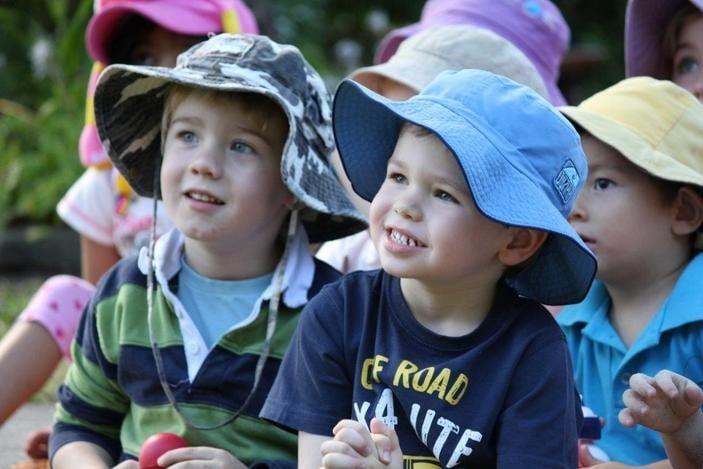Marchant Park Kindy kids