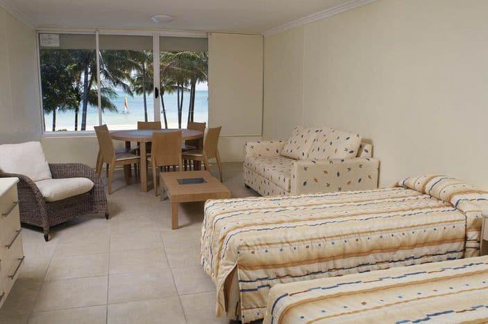 Tangalooma resort unit accommodation