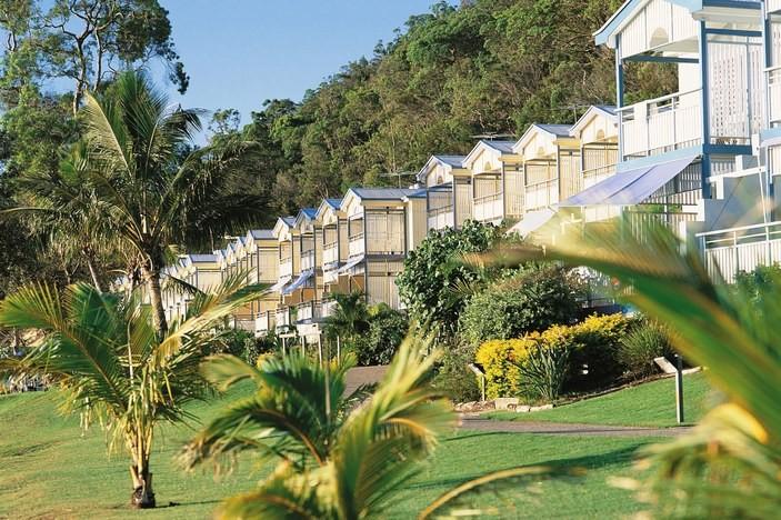 Tangalooma beachfront villas