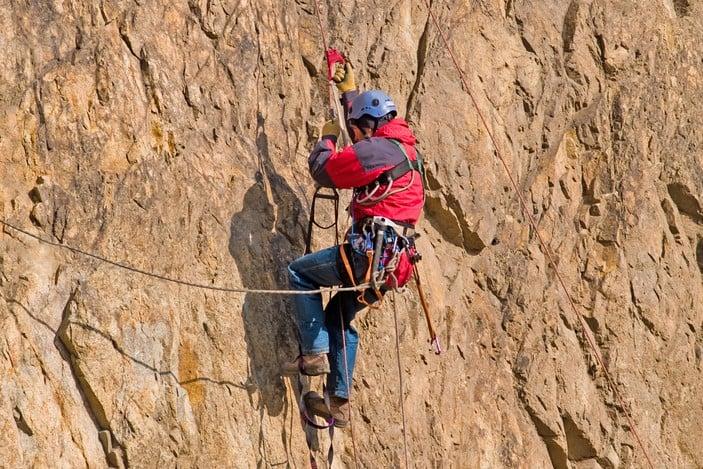 Rock climbing in Brisbane