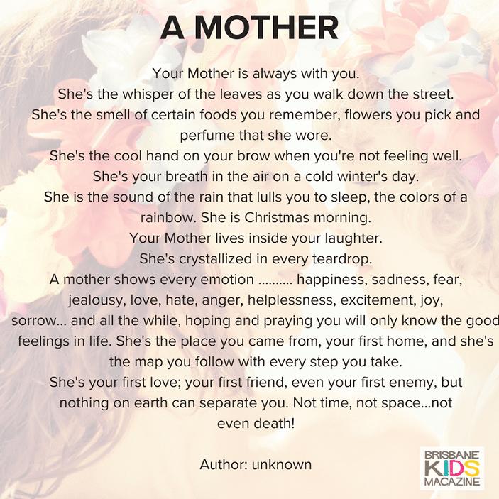 a mother quote, unique