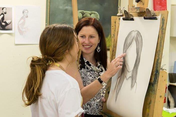 Art classes at Tammy's Art Studio in Brisbane