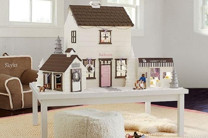 pottery barn dollhouse