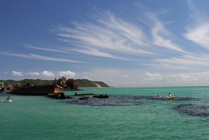 Tangalooma Kayak tours