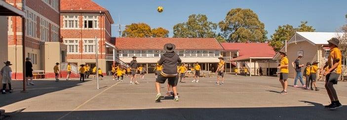 Nundah State School kids playing