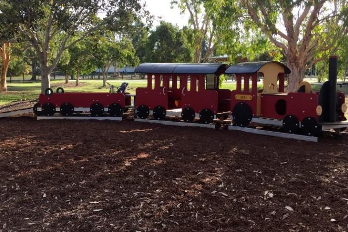 train grahame stewart park