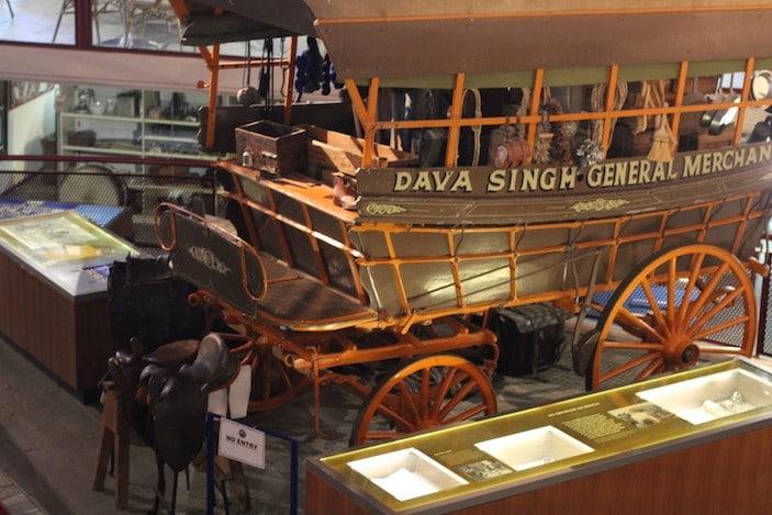 Stockman Hall of Fame Cart.