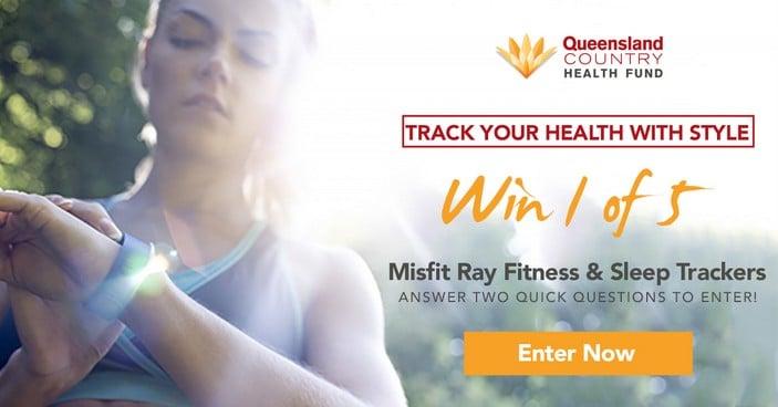 Win a Misfit Rays Health Tracker