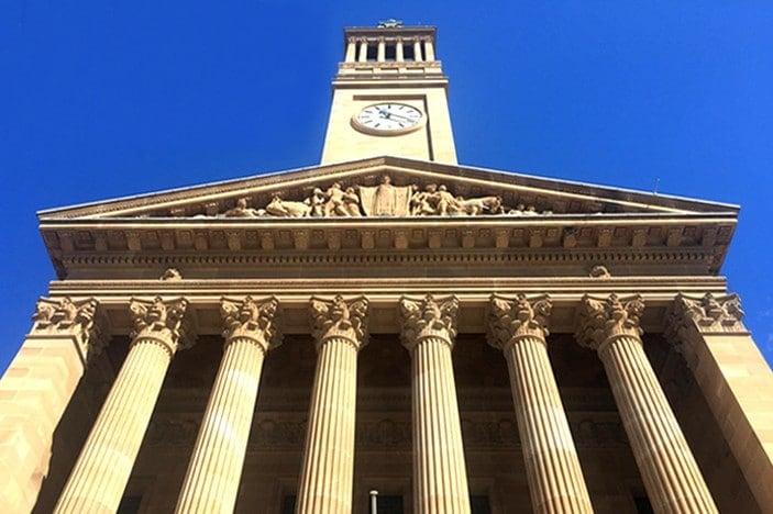 brisbane city hall sunshine
