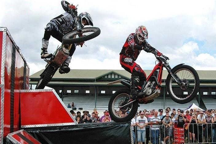 Pine Rivers Show motorbike show