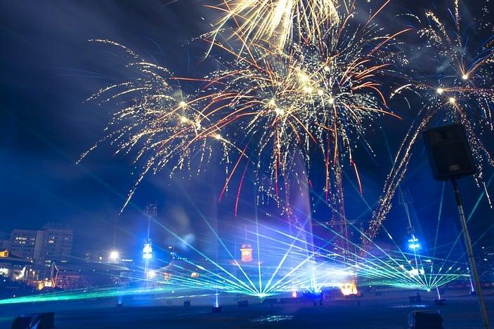 Fireworks at the Ekka